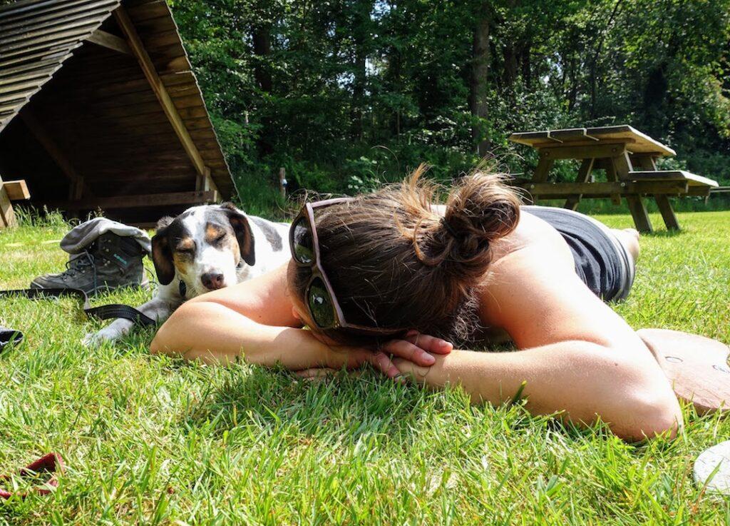 Chillen op de camping_Reizen met je hond