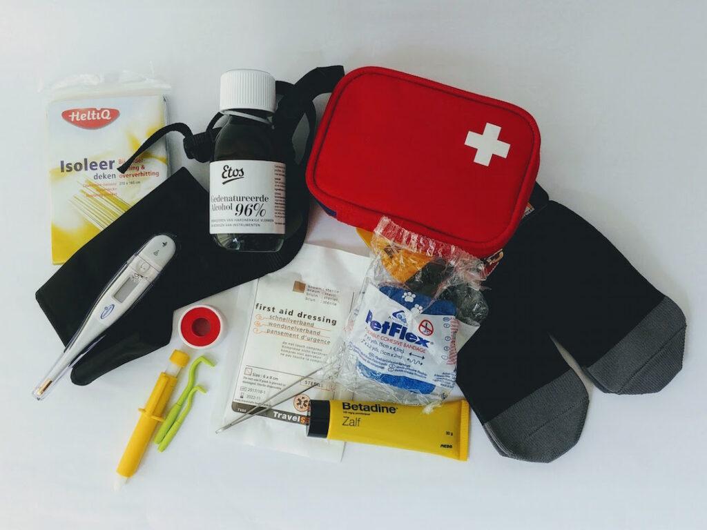 EHBO-kit voor honden