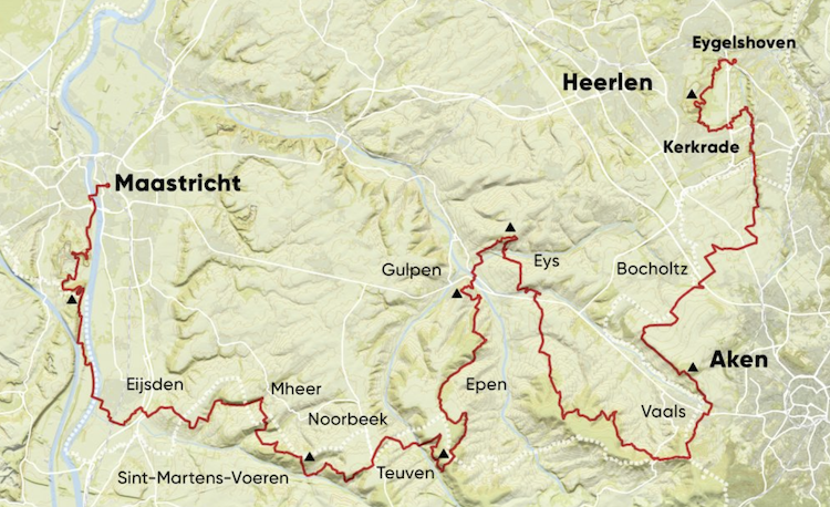 Route Dutch Mountain Trail