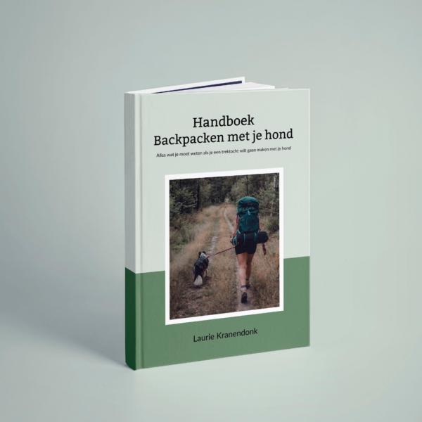 Cover Handboek Backpacken met je hond