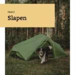 Handboek Backpacken met je hond deel 2 Slapen