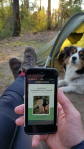 Handboek Backpacken met je hond op de camping