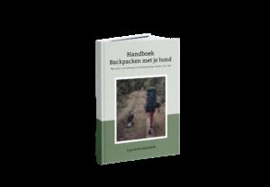 Handboek Backpacken met je hond_voorkant